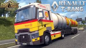 Euro Truck Simulator 2 Mod Truck RENAULT T RANGE - YouTube