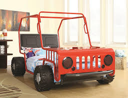 Amazon Jeep Car Bed Red Kitchen & Dining