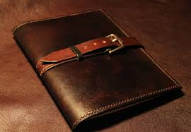 making a leather notebook cover youtube