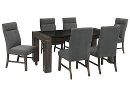 Ashley Signature Design Chansey7 Piece Rectangular Dining Table Set