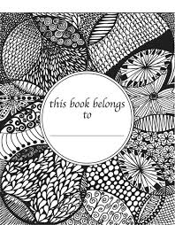 Doodle Coloring Book For Adults