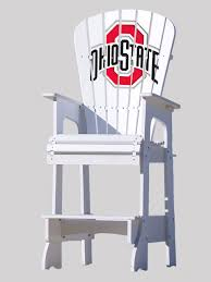 Outdoor Patio Lifeguard Chair - The Ohio State University Hardwood Rocking Chair Ohio State Jumbo Slat Black Ncaa University Game Room Combo 3 Piece Pub Table Set The Best Made In Amish Chairs For Rawlings Buckeyes 3piece Tailgate Kit Products Smarter Faster Revolution Axios Shower Curtain 1 Each Michigan Spartans Trademark Global Logo 30 Padded Bar Stool
