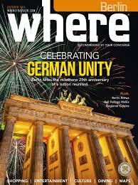 where magazin oktober 2015 by where berlin dinamix media