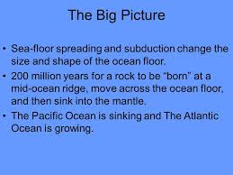 Sea Floor Spreading Subduction Animation by Take Out A Sheet Of Paper And Set It Up As Shown Below Use The