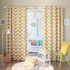 105 Inch Blackout Curtains by Black Curtain Yellow Chevron Blackout Curtains Surprising And
