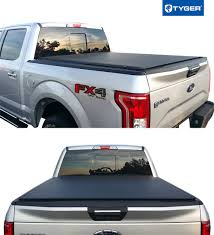 Soft Low-Profile Roll Up Tonneau Cover For 2009-2019 Ford F-150 ...