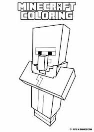 Printable Minecraft Ender Dragon Coloring Page