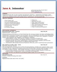 Sample Resume Nurse No Experience Website Picture Gallery For Registered With Or