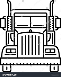 Truck Outline Icon Stock Vector 720823372 - Shutterstock Simple Outline Trucks Icons Vector Download Free Art Stock Phostock Garbage Truck Icon Illustration Of Truck Outline Icon Kchungtw 120047288 Dump Royalty Image Semi On White Background F150 Crew Cab Aliceme Isometric Idigme Drawing 14 Fire Rcuedeskme Lorry Line Logo Linear