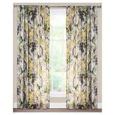 96 Curtain Panels Target by Siscovers Summer Set Plum Curtain Panel Summer Set Plum 52