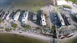 HO HUM RV Park Aerial View