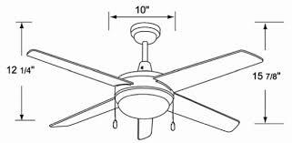 Ceiling Fan Drawing Photo