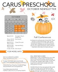 Canby Pumpkin Patch by Carus Preschool News