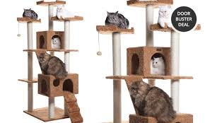 Armarkat Cat Bed by Armarkat Classic Cat Trees Groupon Goods