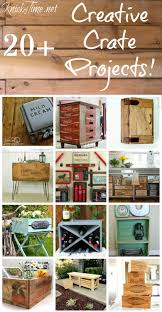Farmhouse Friday 40 Creative Crates Ideas
