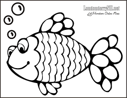 Download Coloring Pages Fish Page For Kids Pics How To Draw