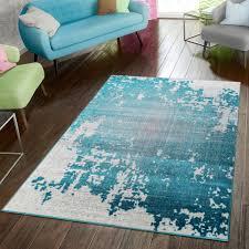 teppich modern preiswert wohnzimmer teppiche abstrakt