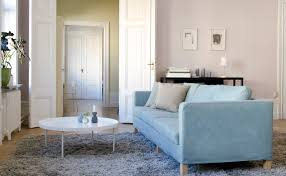 Tylosand Sofa Covers Uk by Karlanda 3 Seater Cover In Tegnér Melange Teal Blue Cushions In