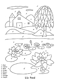 Color By Number Coloring Pages 18