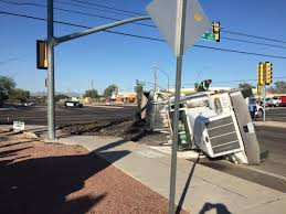 100 Truck Stop Tucson Az Rollover Closing Eastbound 22nd Street At Harrison In Now