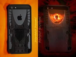 3ders 3D printed Eye of Sauron iPhone 5 case for Lord The