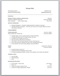 Resume Template For Students With No Experience Entry Level Templates