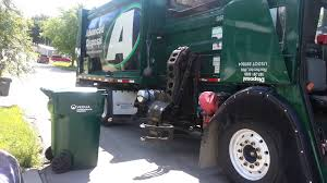 My Trash Can Being Emptied By Garbage Truck YouTube Trash Cans And ...