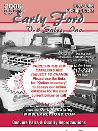 100 Ford Truck Parts Online 57 66 DL Steering United Parcel Service