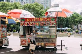 100 Food Truck License Nyc Woman Is Buying Food At Food Truck In New York Download