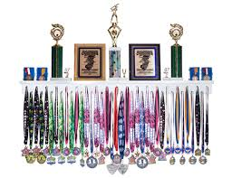 Sale 4 Ft Trophy And Award Medal Display Rack