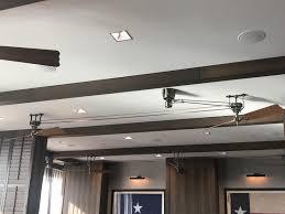 Belt Driven Ceiling Fan Diy by These Belt Driven Ceiling Fans Where I Had Breakfast