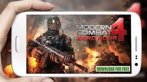 how to and install modern combat 4 zero hour for free