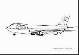 Remarkable Airplane Coloring Pages With Planes And Printable