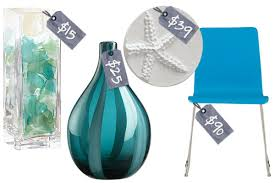 Teal Home Accessories Decor Decorating Diva Beach Inspired