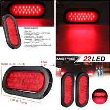 Truck Trailer Tail Light LED Stop Turn Brake Signal Oval Tailgate ... Amazoncom Driver And Passenger Taillights Tail Lamps Replacement Home Custom Smoked Lights Southern Cali Shipping Worldwide I Hear Adding Corvette Tail Lights To Your Trucks Bumper Adds 75hp 2pcs 12v Waterproof 20leds Trailer Truck Led Light Lamp Car Forti Usa 36 Leds Van Indicator Reverse Round 4 Braketurntail 3 Panel Jim Carter Parts Brake Led Styling Red 2x Rear 5 Functions Ultra Thin Design For Rear Tail Lights Lamp Truck Trailer Camper Horsebox Caravan Volvo Semi Best Resource
