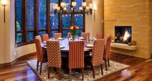 Dining Room Table Sets Seats 10 Victorian Round With 5 Leaves About 12 People