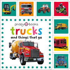 100 Police Truck Tab Mini Tab Books S Things That Go Roger Priddy Macmillan