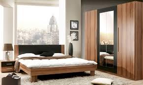 schlafzimmer komplettset walnuss matt schwarz woody 77