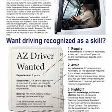 National Occupational Standards | Trucking Hr Canada With Truck ...
