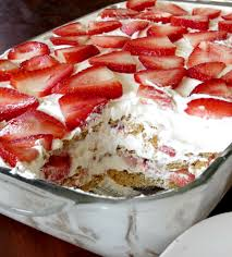 Strawberry Angel Food Cake Trifle Cool Whip
