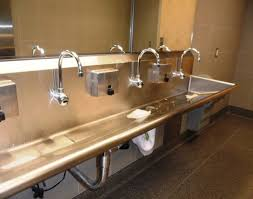 Trough Sink With Two Faucets by Sink Trough Sink Bathroom 35 Trough Sink Bathroom Popular
