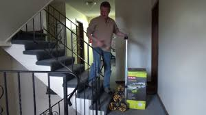 Stair Climbing Dolly - Heavy Duty Hand Truck - YouTube
