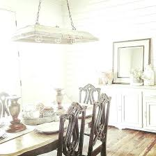 Shiplap Dining Room Farmhouse The Features An Old Cabinet Painted In