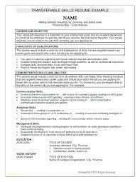 Hotel Resume Sample For Management Fresher And Examples Skills Template Additional Types