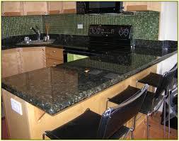 glass tile backsplash with granite countertops home design ideas