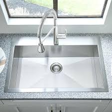 swanstone metropolitan 33 x 22 large single bowl kitchen sink