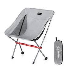 Leegoal Naturehike Portable Chair Camping Hiking Fishing Chair Gardening  Chair