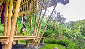 100 Ibuku Beautiful Bamboo Pavilion In Bali Translates The Flexibility Of Yoga