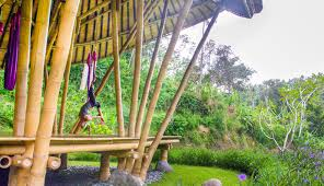 100 Ibuku Beautiful Bamboo Pavilion In Bali Translates The Flexibility