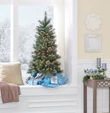 4ft Slim Pre Lit Christmas Tree by Jaclyn Smith 4 5 U0027 Pre Lit Slim Pine Christmas Tree Kmart